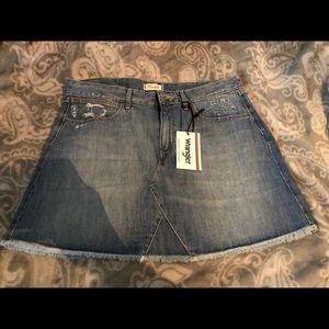 Jean- skirt